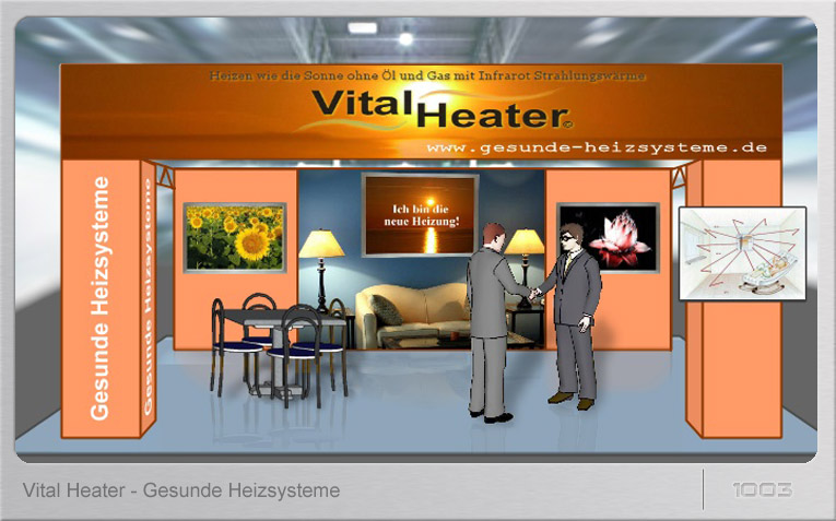 Messestand VitalHeater